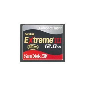 Photo of 12GB Extreme III COMPACTFLASH Card Memory Card