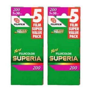Photo of Fujifilm Superia 200 35MM 36EXP Pack Of 10 Camera Film