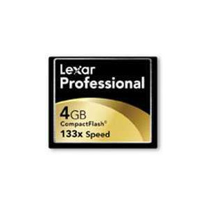 Photo of Lexar Pro Compact Flash 4GB Card 133X Memory Card