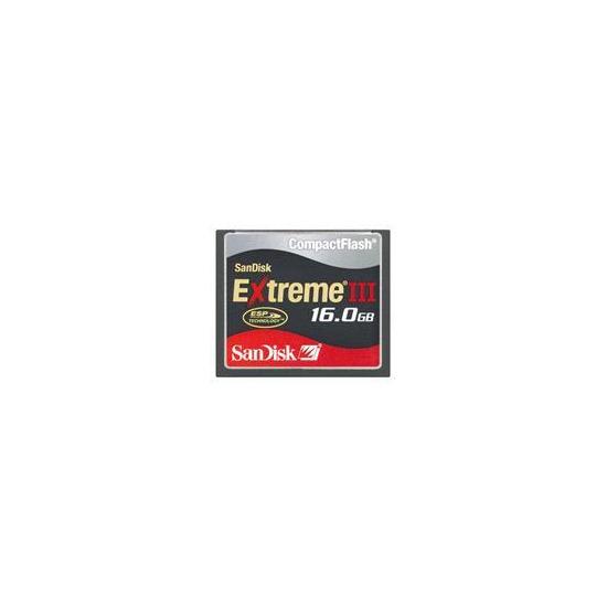 16GB Extreme III Compactflash Card