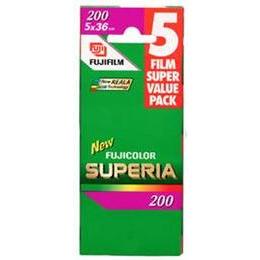 Fujifilm Superia 200 35MM 36 Exposure Pack Of 5 Reviews
