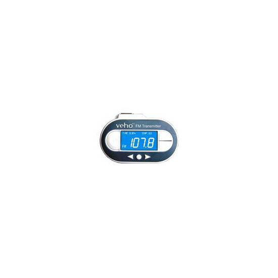 Veho VFM 002 Digital FM Transmitter For All MP3 Players and iPods