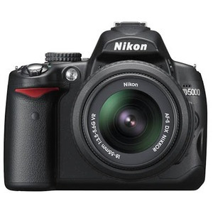 Photo of Nikon D5000 With 18-55 and 55-200MM VR Lenses Digital Camera