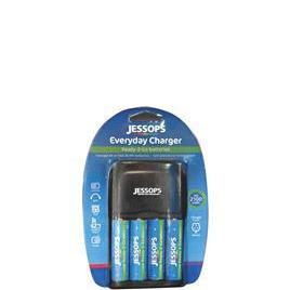 Everyday Charger with 4xAA Batteries Reviews
