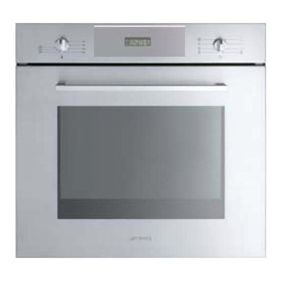 Smeg Cucina Pyrolytic Multifunction Single Oven