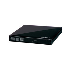 Photo of Buffalo 8X Portable DVD MultiDrive USB 2.0 - Black Hard Drive