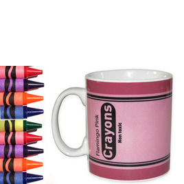 Crayon Mug - Flamingo Pink Reviews