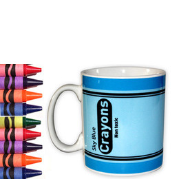 Crayon Mug - Sky Blue Reviews