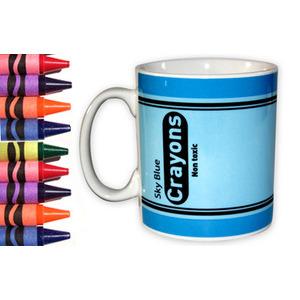 Photo of Crayon Mug - Sky Blue Kitchen Accessory