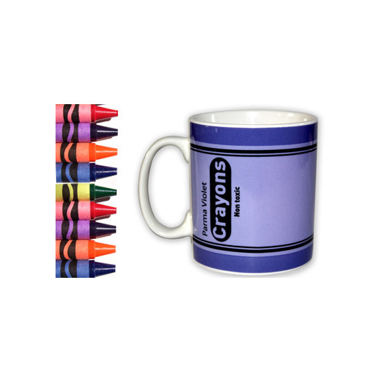 Crayon Mug - Parma Violet