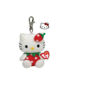 Photo of Hello Kitty Strawberry Keychain Accessory
