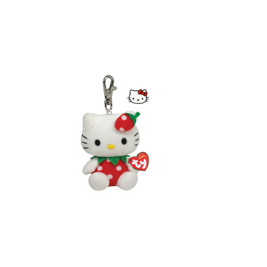 Hello Kitty Strawberry Keychain