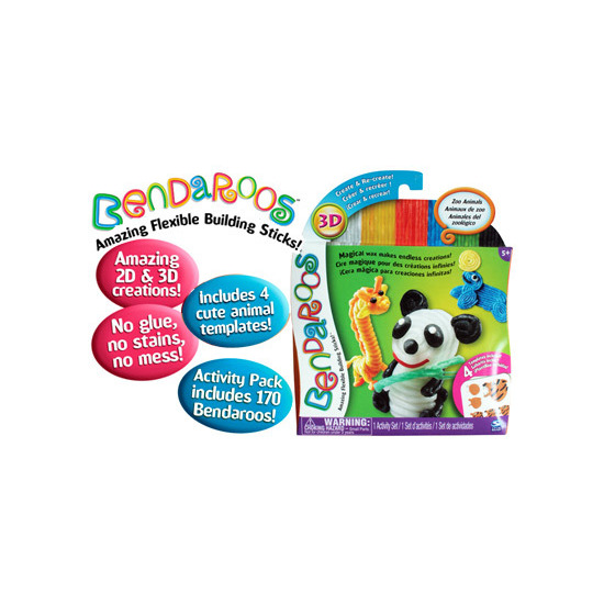 Bendaroos - Activity Pack Zoo Animals