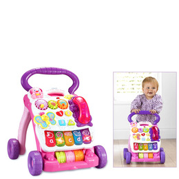 First Steps Baby Walker - Pink Reviews