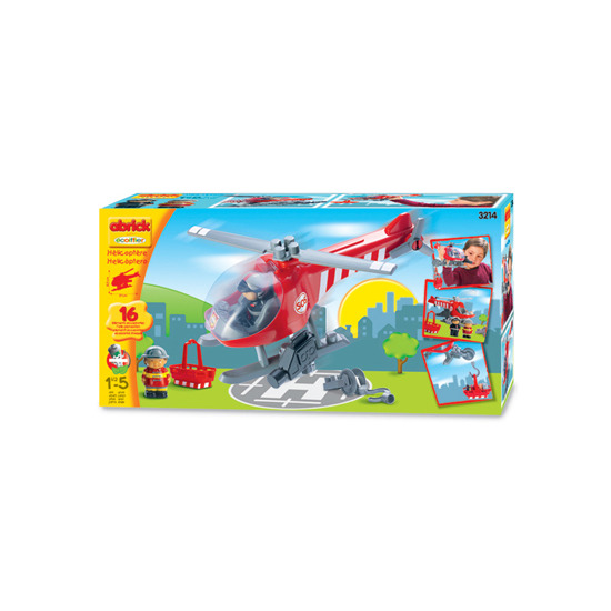 abrick Helicopter Play Set
