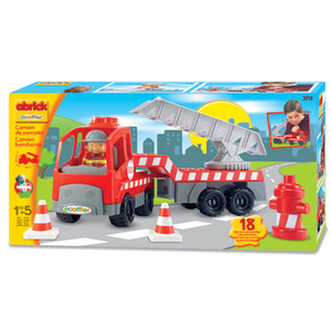 Photo of Abrick Fire Engine Play Set Toy