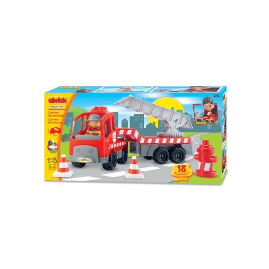 abrick Fire Engine Play Set
