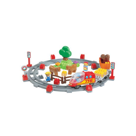 Abrick Train Play Set