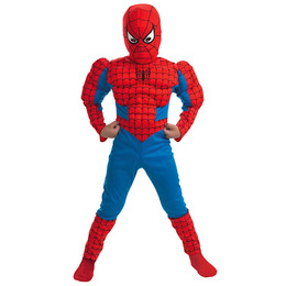 Spider-Man Classic Deluxe Muscle Costume Reviews