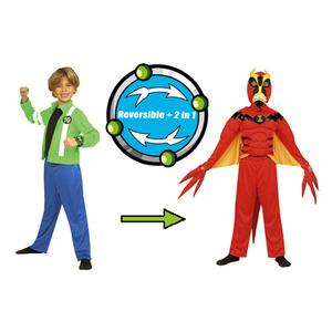 Photo of Ben 10 Alien Force 2 In 1 Deluxe Reversible Costume Toy
