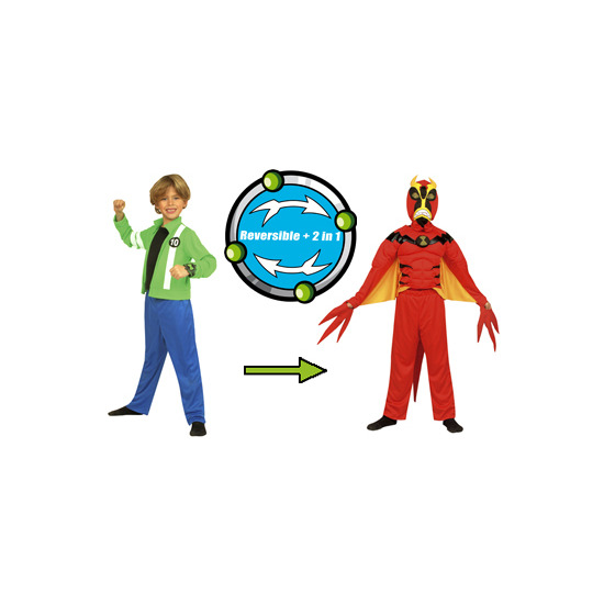 Ben 10 Alien Force 2 in 1 Deluxe Reversible Costume