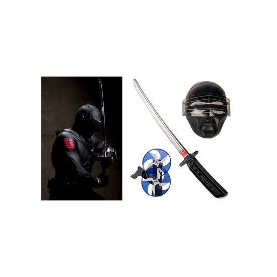 G.I. Joe Snake Eyes Sword & Mask