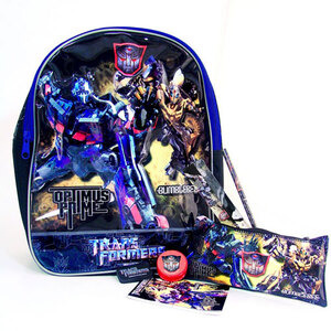 Photo of Transformers Backpack Stationery Set Toy
