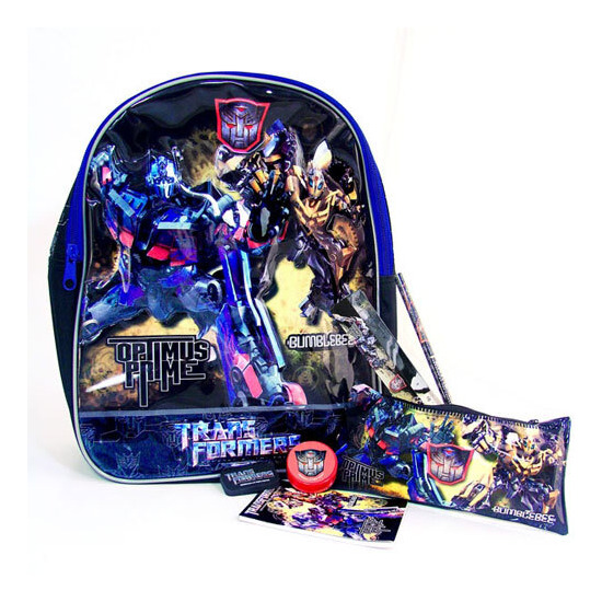 Transformers Backpack Stationery Set