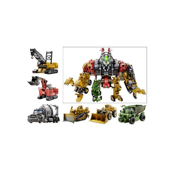 Transformers: Revenge of the Fallen - Supreme Combiner Constructicon Devastator