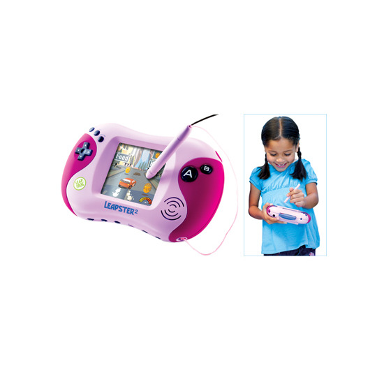 Leapster2 Connected Learning Game System - Pink