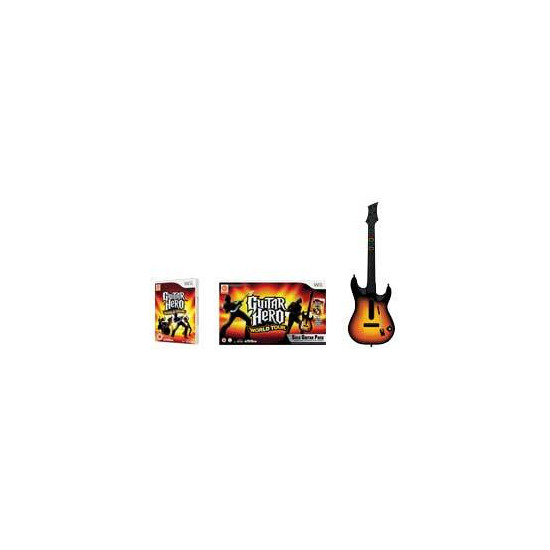 Guitar Hero World Tour - Solo Guitar Pack (Wii)