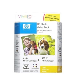 Original HP No.363 tri-colour (cyan magenta yellow) printer ink cartridge CB333EE Reviews