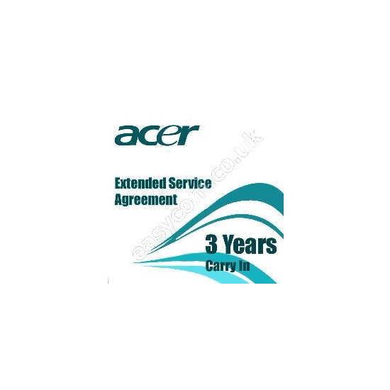 Acer Warranty Service Agreement - 3 years - carry-in