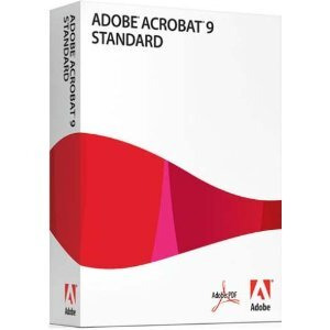 Photo of Adobe Acrobat 9 Standard Software