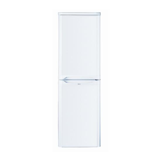 Indesit CAA55 NF K/S/W Fridge Freezer