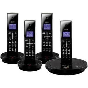 Photo of Idect X1I Quad BLK Landline Phone