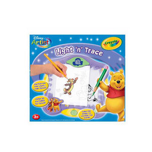Photo of Crayola Winnie The Pooh Light N Trace Toy