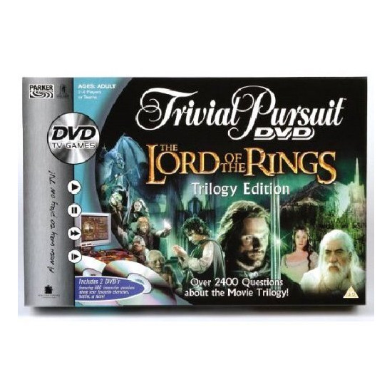 Grant Bowman Lord Of The Rings Trivial Pursuit DVD