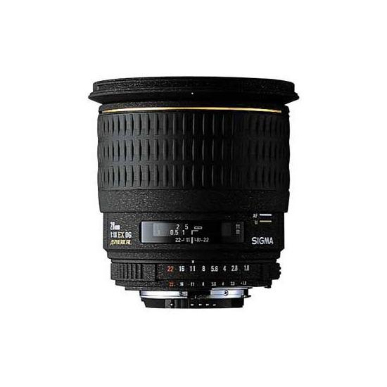 Nikon 28mm f/1.8 EX DG ASP (Nikon mount)