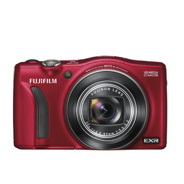 Fujifilm FinePix F770 Advanced Compact Digital Camera - Red