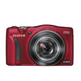Fujifilm FinePix F750 Compact Digital Camera - Red Reviews