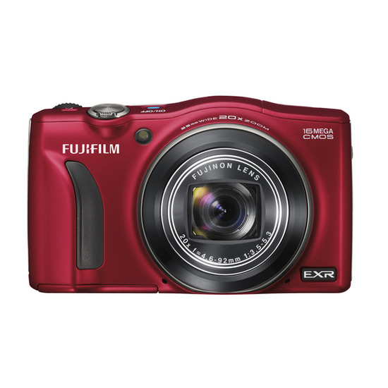 Fujifilm FinePix F750 Compact Digital Camera - Red