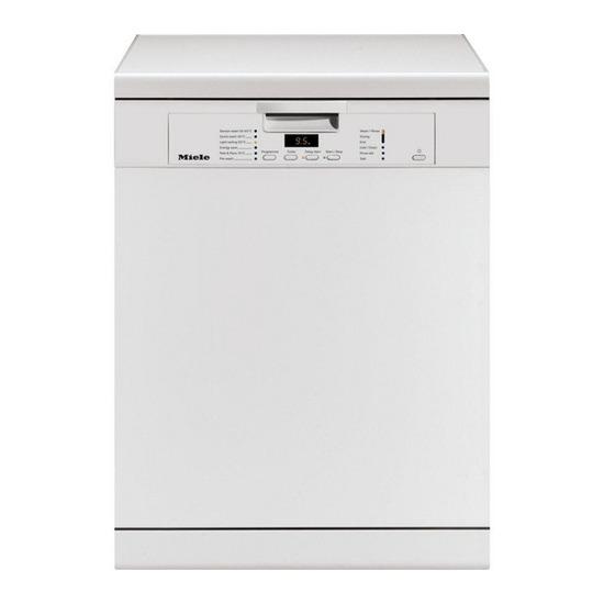 Miele G6587 SCVI K2O XXL Standard Fully Integrated Dishwashers