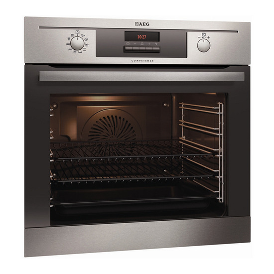 AEG BE5003021M Electric Oven - Stainless Steel