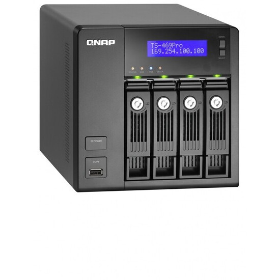 QNAP TS-469 Pro 4 Bay NAS Server