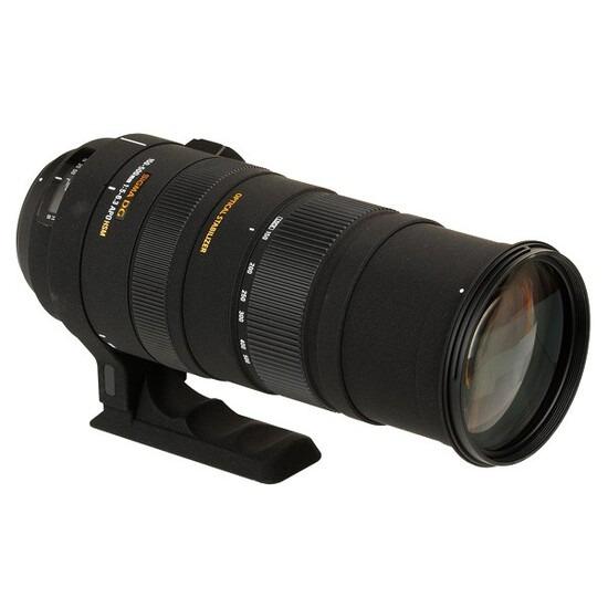 Sigma APO 150-500mm f5-6.3 DG OS HSM Lens (Canon Mount)