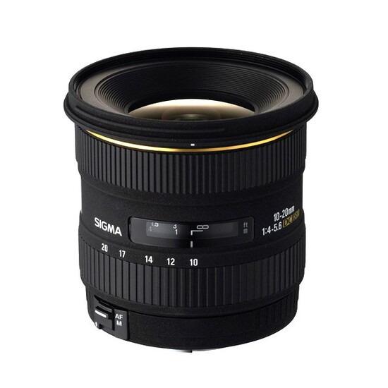 Sigma 10-20mm F3.5 EX DC HSM (Nikon Mount)