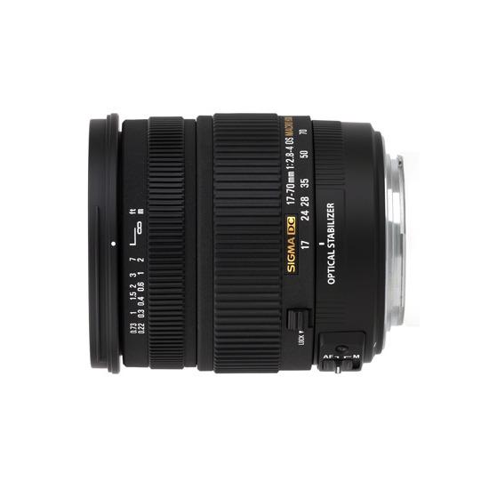 Sigma 17-70mm f/2.8-4 DC Macro OS HSM Lens (Nikon Mount)