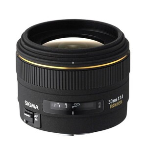 Photo of Sigma 30MM F/1.4 EX DC HSM (Canon Mount) Lens