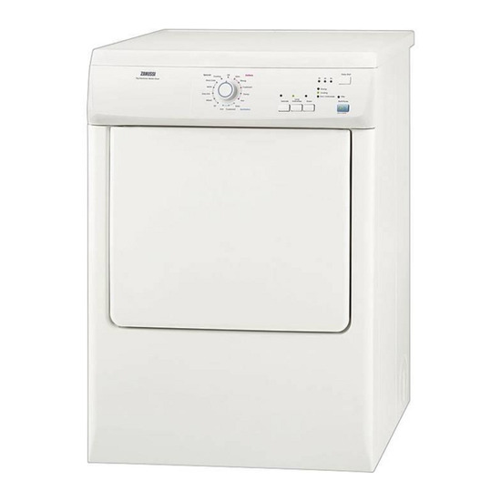 Zanussi ZDE47209W Vented Tumble Dryer - White